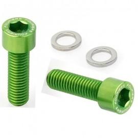 FOURIERS Surub pentru suport bidon, 2 buc/set, Verde