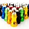 FOURIERS Capac ventil presta Bling, AL-6061-T6 full CNC, Negru