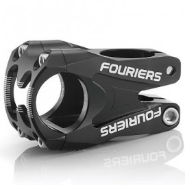 FOURIERS Pipa MTB, 45mm, 31.8mm, AL6066-T6 CNC, incl. Top Cap, Negru