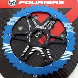 FOURIERS Pinion Mega SK3 40T Albastru
