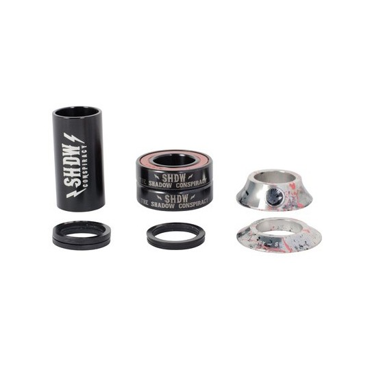 THE SHADOW CONSPIRACY BB Set Stacked Mid Flamingo Blood 19mm