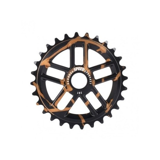 SUBROSA Foaie angrenaj Speed Copper Haze Negru 25T