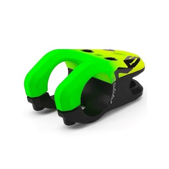 NSBIKES Pipa Magneto 31.8mm, lungime: 47mm, verde/galben