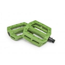 eclat Pedale SLASH verde armata plastic
