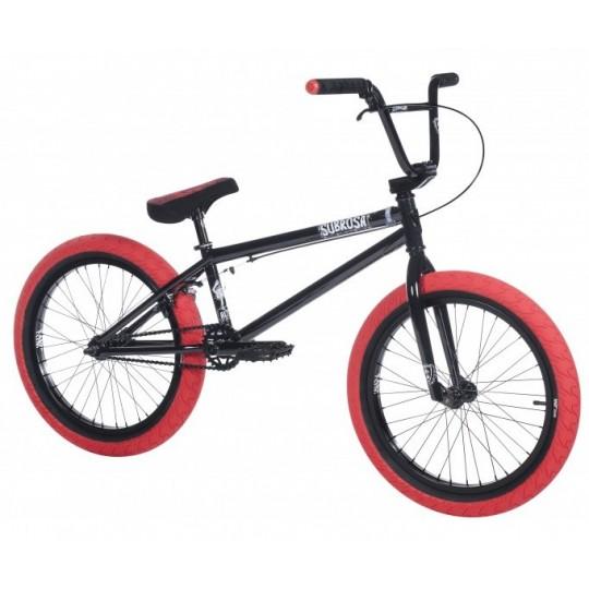 SUBROSA Bicicleta BMX 2018 Altus Negru Lucios-Rosu