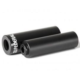 FEDERAL Peg PLASTIC 14mm incl. adaptor de 10mm, 105mm al/plastic negru