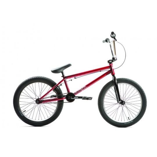 "UNITED Bicicleta BMX 2018 Supreme 20.25"" Rosu Translucent"