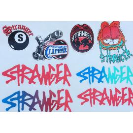STRANGER Set stickere