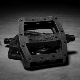KINK Pedale Hemlock 9/16, plastic, negru