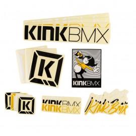 KINK Set stickere
