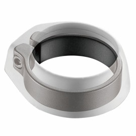 FOURIERS Colier tija de sa cu protectie 30.9mm, negru