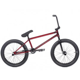 CULT Bicicleta BMX Devotion C 2018 rosu translucent