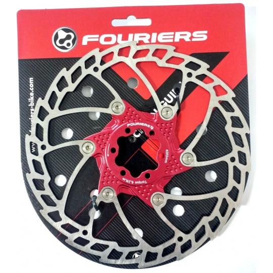 FOURIERS Rotor frana disc 160mm rosu