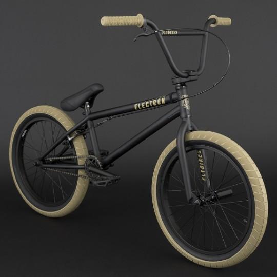 FLY BIKES Bicicleta BMX Electron 2018 negru mat