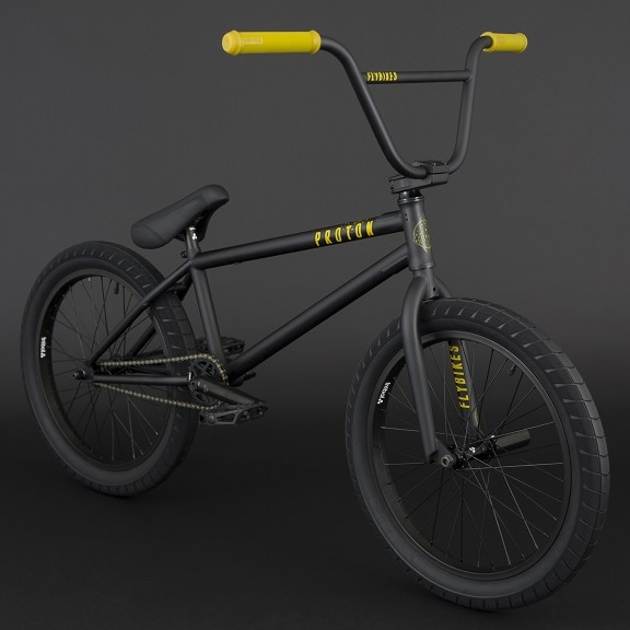 FLY BIKES Bicicleta BMX Proton 2018 negru mat