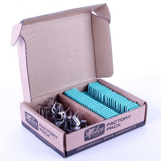 MILES RACING Factory Pack Shimano XTR pana 2010, 25 buc./set