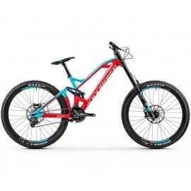 MONDRAKER Bicicleta Downhill Summum Pro 27.5 2018 rosu-albastru