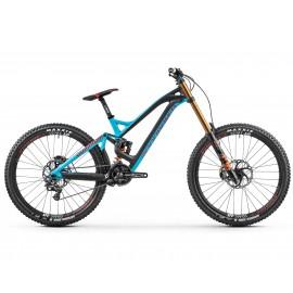 MONDRAKER Bicicleta Downhill Summum Carbon Pro Team 27.5 2018 negru-albastru