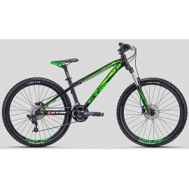CTM Bicicleta Raptor 2.0 2018 negru-verde
