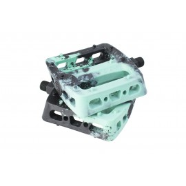 ODYSSEY Pedale Twisted PRO PC Plastic 9/16, negru-menta
