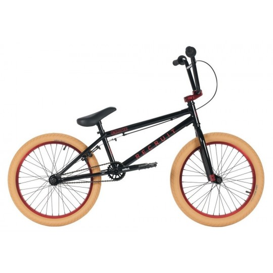 UNITED Bicicleta BMX 2016 Recruit Negru