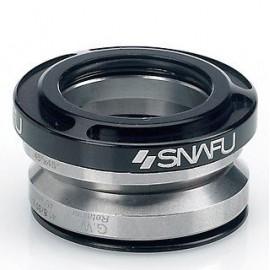 SNAFU Headset integrat Fontanel negru