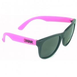 KINK Ochelari de soare pink cu logo negru