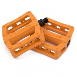 KINK Pedale Hemlock 9/16, plastic,  portocaliu