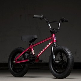 KINK Bicicleta BMX 2020 Roaster 12 Rosu
