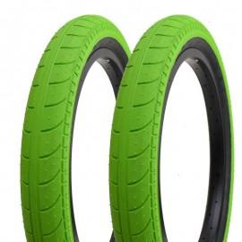 STRANGER Cauciuc Ballast 20x2.45, 60TPI, 110PSI verde
