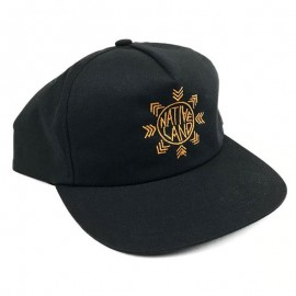 CULT Sapca Nativeland - 5 panel - negru