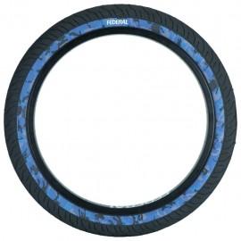 FEDERAL Cauciuc Command LP 20x2.40 - Negru cu perete albastru camo