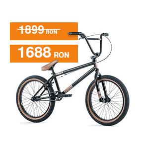 "Bicicletă BMX 2017 Type O negru 20.5"" TT FIEND"